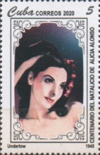 [The 100th Anniversary of the Birth of Alicia Alonso, 1920-2019, type JYT]
