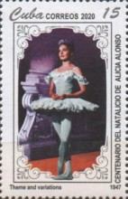 [The 100th Anniversary of the Birth of Alicia Alonso, 1920-2019, type JYU]