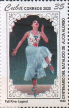 [The 100th Anniversary of the Birth of Alicia Alonso, 1920-2019, type JYV]