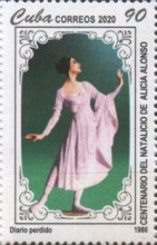 [The 100th Anniversary of the Birth of Alicia Alonso, 1920-2019, type JYY]