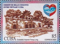 [National Architectural Heritage - Joint Issue with Vietnam, type KAF]
