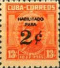 [Postal Stamps Surcharged, type MW1]