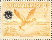 [Airmail - The Stamp Day and The National Philatelic Exhibition, Havana, type PV1]