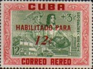 [Stamps of 1959 Surcharged, type VO1]