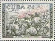 [Airmail - The 1st Anniversary of The Cuban Revolution, type WF]