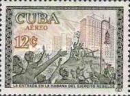 [Airmail - The 1st Anniversary of The Cuban Revolution, type WG]