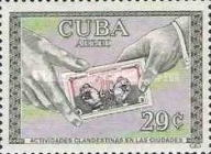 [Airmail - The 1st Anniversary of The Cuban Revolution, type WH]