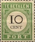 [Numeral Stamps - Small Numerals, Typ B2]