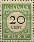 [Numeral Stamps - Small Numerals, Typ C1]
