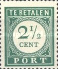 [Numeral Stamps, Typ F]