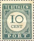 [Numeral Stamps, Typ F2]