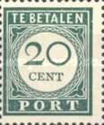 [Numeral Stamps, Typ F5]