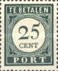 [Numeral Stamps, Typ F6]