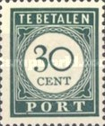 [Numeral Stamps, Typ F7]