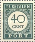 [Numeral Stamps, Typ F8]