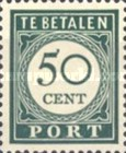 [Numeral Stamps, Typ F9]