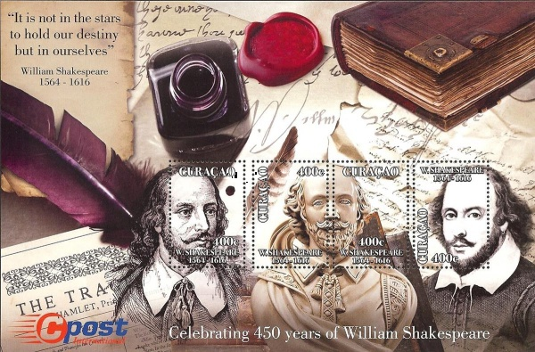 [The 450th Anniversary of the Birth of William Shakespeare, 1564-1616, Typ ]