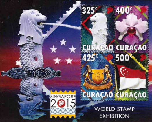 [World Stamp Exhibition SINGAPORE 2015, Typ ]