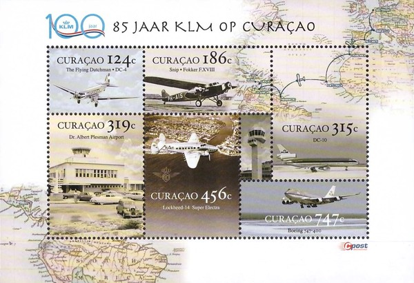 [The 85th Anniversary of KLM Flights to Curacao, Typ ]