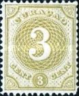[Numeral Stamps, Typ C3]