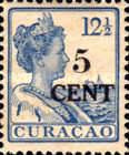 [Issue of 1915 Surcharged in Black, type V]