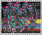 [The 50th Anniversary of Curacao Carnival, Typ WR]