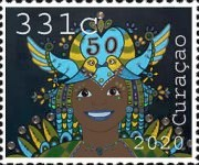 [The 50th Anniversary of Curacao Carnival, Typ WS]