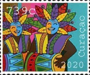 [The 50th Anniversary of Curacao Carnival, type WU]
