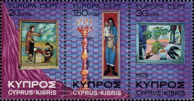 [EUROPA Stamps - Paintings, type ]
