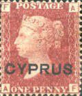 [English Postage Stamps Overprinted