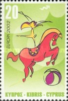 [EUROPA Stamps - The Circus, type AEN]