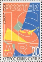 [EUROPA Stamps - Poster Art, type AFK]