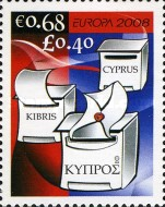 [EUROPA Stamps - Writing Letters, type AJV]