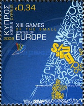 [The 12th Games of the Small States of Europe, type AKW]