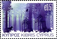 [EUROPA Stamps - The Forest, type AMZ]