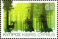 [EUROPA Stamps - The Forest, type ANA]
