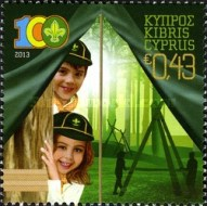 [The 100th Anniversary of the Cyprus Scouts Association, type AOO]