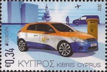 [EUROPA Stamps - Postal Vehicles, type AOV]
