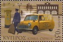 [EUROPA Stamps - Postal Vehicles, type AOW]