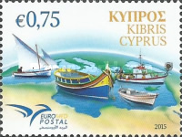 [EUROMED Issue - Boats used in the Mediterranean, type ARG]