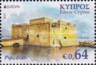 [EUROPA Stamps -  Palaces and Castles, type ATB]
