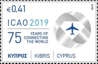 [The 75th Anniversary of the ICAO - International Civil Aviation Organization, type AUS]
