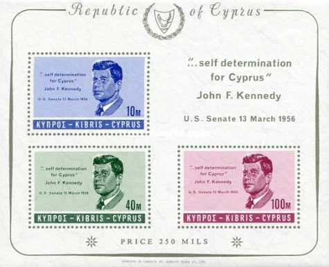 [In Memorial of J.F.Kennedy, type DK3]
