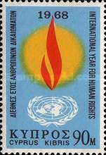 [International Year for Human Rights, type FF]