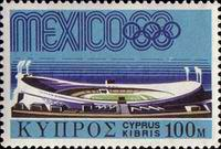 [Olympic Games - Mexico City, Mexico, type FM]