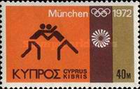 [Olympic Games - Munich, West Germany, type HO]