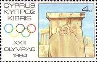 [Olympic Games - Los Angeles, USA, type QB]