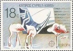 [EUROPA Stamps - Transportation and Communications, type TF]