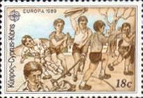 [EUROPA Stamps - Children's Games, type UA]