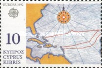 [EUROPA Stamps - The 500th Anniversary of the Discovery of America, type WW]